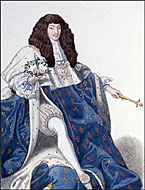 King Louis XIV (courtesy Library and Archives Canada